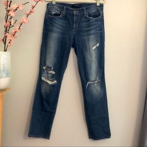 Joe's Jeans Staight Leg Distressed in Autumn